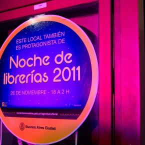 Noche de librerías 2011